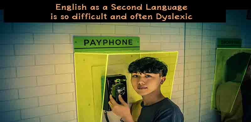 esl, English as a second language, english as a foreign language, esl dyslexia, dyslexic esl, esl dyslexic,