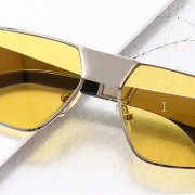 Yellow Color Therapy Fashion Glasses